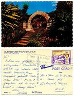 Bermuda 1969 Postcard Moongate At Elbow Beach Surf Club - Bermuda