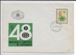 ESPERANTO - BULGARIE - 1963 - ENVELOPPE Avec OBLITERATION TEMPORAIRE - Esperanto