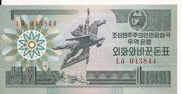 COREE DU NORD 1 WON 1988 UNC P 27 - Corea Del Nord