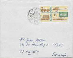 ESPERANTO - HONGRIE - 1966 - ENVELOPPE Avec OBLITERATION TEMPORAIRE - Esperanto