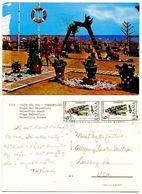 Spain 1970's Postcard Costa Delo Sol - Torremolinos - Bajondillo Beach - Málaga