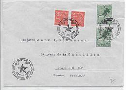 ESPERANTO - SUEDE - 1966 - ENVELOPPE Avec OBLITERATION TEMPORAIRE - Esperanto