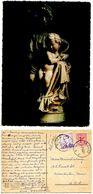 Belgium 1969 Postcard Bruges - Sculpture Of Virgin Mary & Child - Virgen Mary & Madonnas