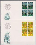 Lichtenstein FDC  1981   MiNr.764 -765 4er Blocks Europa Folklore ( D 1928 ) Günstige Versandkosten - FDC