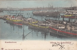 Hilsen Fra KOPENHAVN, Gel.1903, Gute Erhaltung - Dänemark