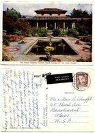 Ireland 1961 Postcard Italian Gardens, Garnish Island, Glengarriff, Co. Cork - Cork