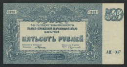 (Russie) 500 Roubles Rubles Roublis 1920 . - Russie