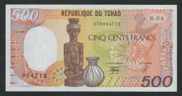 (Tchad) 500 Francs 1990 . UNC . - Tchad