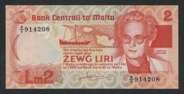 (Malte) Malta . 2 Hames Liri . UNC . - Malta