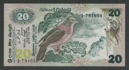 (Sri Lanka) Ceylan Ceylon . 20 Rupees 1979 . UNC . - Sri Lanka