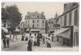 CPA 35 - PARAME ROCHEBONNE (Ille Et Vilaine) - 51. Boulevard De Chateaubriand. LL - TTBE, Patissier Waltz - Parame
