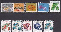 Australia ASC 582-590 1973 Marine Life And Gemstones, Mint Never Hinged - Mint Stamps