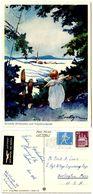 Switzerland 1966 Postcard Herzliche Weihnachts Und Neujahrswünsche - Other