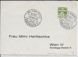 ESPERANTO - DANEMARK - 1939 - CARTE Avec OBLITERATION TEMPORAIRE - Esperanto
