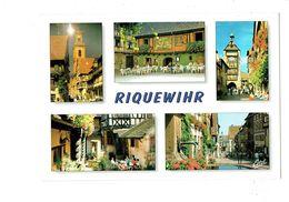 Cpm - 68 - Riquewihr - Multivues - Taxidermie Tête De Cerf - Rue Du Général De Gaulle - Riquewihr