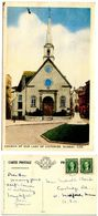 Canada 1940's Postcard Church Of Our Lady Of Victories, Quebec - Quebec