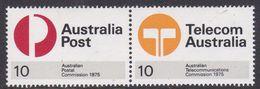 Australia ASC 638b 1975 Australia Post Joint Pair, Mint Never Hinged - 1966-79 Elizabeth II