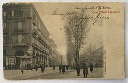 TORINO CORSO VITTORIO EMANUELE II 1912 VIAGGIATA FP - Italie