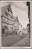 Lindenstraße Mit Heimatmuseum, Bad Wildungen, Hessen, 1953 - Cramers Foto AK - Bad Wildungen