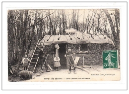 FORET DE SENART : Une Cabane De Bucheron - Tres Bon Etat - France
