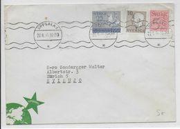 ESPERANTO - SUEDE - 1956 - ENVELOPPE ILLUSTREE De PROPAGANDE De UPPSALA - Esperanto