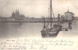 Cöln Von Deutz Schiffe 1902 - Koeln