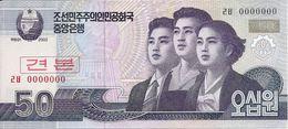 COREE DU NORD 50 WON 2002 UNC P 60 S - Korea, North