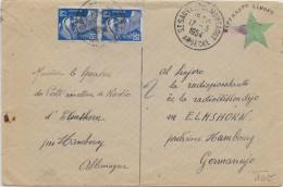 ESPERANTO - FRANCE - 1954 - ENVELOPPE Avec ILLUSTRATION PROPAGANDE De ST SAUVEUR DE MONTAGUT (ARDECHE) - Esperanto