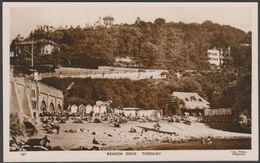 Beacon Cove, Torquay, Devon, C.1930 - Cox Photo RP Postcard - Torquay