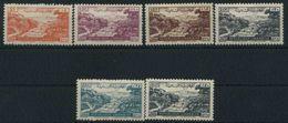 (142) 1948 Libano, Posta Aerea Ordinaria, Serie Completa Nuova (*) Linguellata - Libano