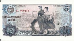 COREE DU NORD 5 WON 1978 UNC P 19 A - Korea, North