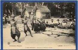 CPA Laos Types Raquez Asie Non Circulé Luang Prabang Danseuses Et Orchestre Du Roi - Laos