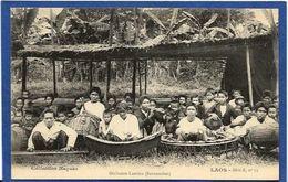 CPA Laos Types Raquez Asie Non Circulé Orchestre Laotien - Laos