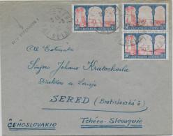 ESPERANTO - FRANCE - 1930 - ENVELOPPE Avec PROPAGANDE De VITRY => SERED (TCHECOSLOVAQUIE) - Esperanto