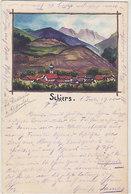 Schiers - Original Handgemalte AK - 1900        (P-163-80717) - GR Grisons