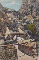 AT THE TANKS. ADEN, YEMEN. J M JUDAH. CIRCA 1900's.- BLEUP - Yemen