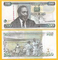 Kenya 200 Shillings P-49e 2010 UNC - Kenya