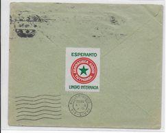 ESPERANTO - ALLEMAGNE - 1932 - VIGNETTE Sur ENVELOPPE De LEIPZIG => PARIS - Esperanto