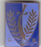 INSIGNE GS GUERRE D'ALGERIE AFN EMAIL ORIGINAL POLICE 1954/62 - RARE - Police & Gendarmerie