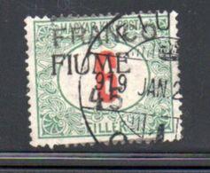 Fiume  / N 29 / 45 Sur 6 Fi /  Oblitéré - 8. WW I Occupation