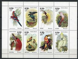 (lot 8 Bis) Oman ** - Série De 8 Tbres En Petite Feuille - Oiseaux - - Oman
