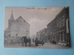 Flémalle - Haute 1908 Rue Du Village / Attelage / Edit. Verbiest, Tabacs, Flemalle-haute - Flémalle