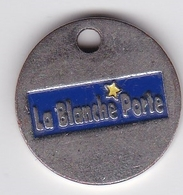 Jeton De Caddie En Métal - La Blanche Porte - Vêtements - Vente Par Correspondance - Trolley Token/Shopping Trolley Chip