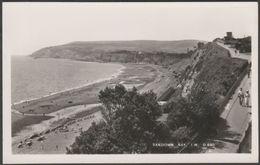 Sandown Bay, Isle Of Wight, C.1950 - Dean RP Postcard - Sandown