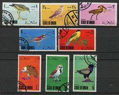 (lot 20) Oman Ob  - Série De 8 Tbres - Oiseaux - - Oman