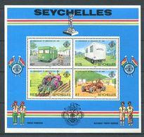 234 SEYCHELLES 1982 - Yvert BF 20 - Vehicule Tracteur - Neuf ** (MNH) Sans Trace De Charniere - Seychelles (1976-...)