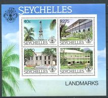 234 SEYCHELLES 1983 - Yvert BF 21 - Architecture Phare Hopital ... - Neuf ** (MNH) Sans Trace De Charniere - Seychelles (1976-...)
