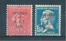France Timbre De 1930 N°264/65  Neuf *  Cote 23,75 € - France