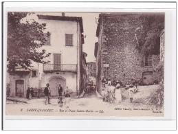 FRANCE : SAINT-JEANNET : Rue Et Place Sainte-barbe - Tres Bon Etat - Sonstige Gemeinden