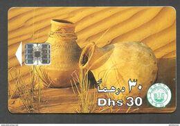 USED CHIP PHONECARD UNITED ARAB EMIRATES - Emirats Arabes Unis